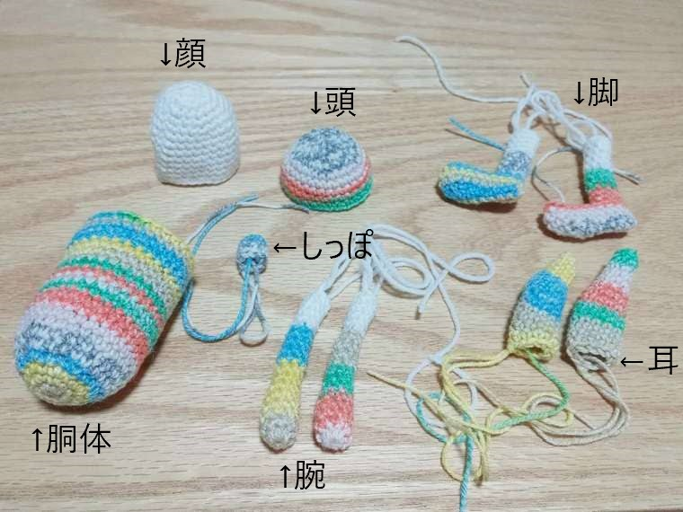 【新たな趣味におすすめ】うさぎの編みぐるみの編み方動画紹介