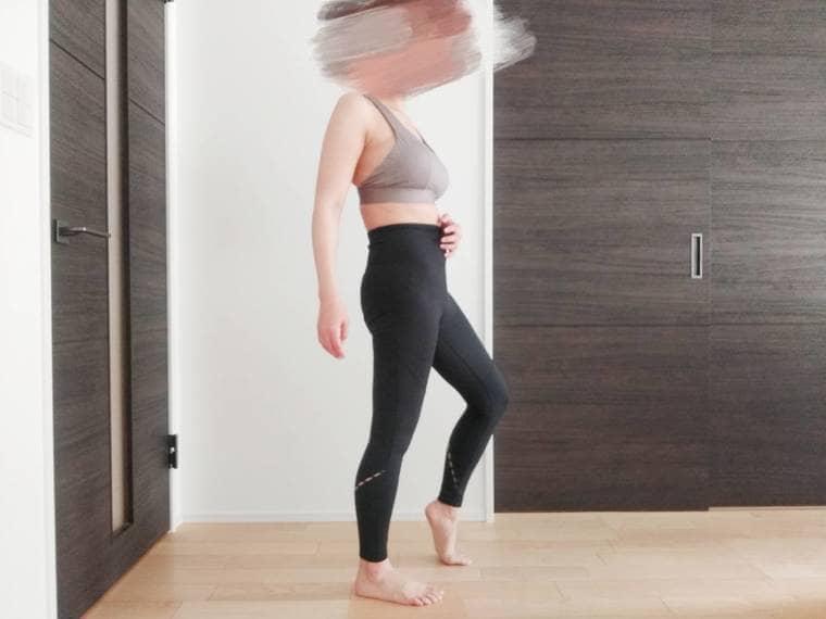 レニーのトレーニングウェアを着ている女性